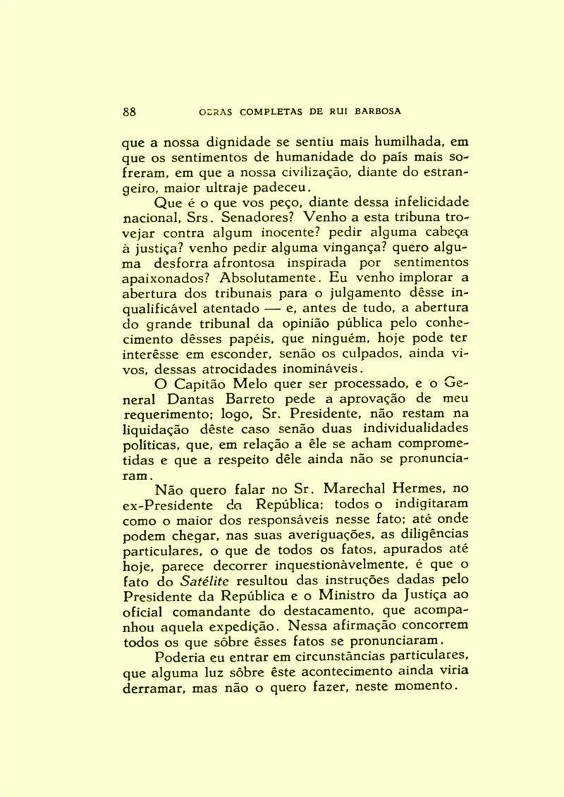 Obras Completas de Rui Barbosa pag 88